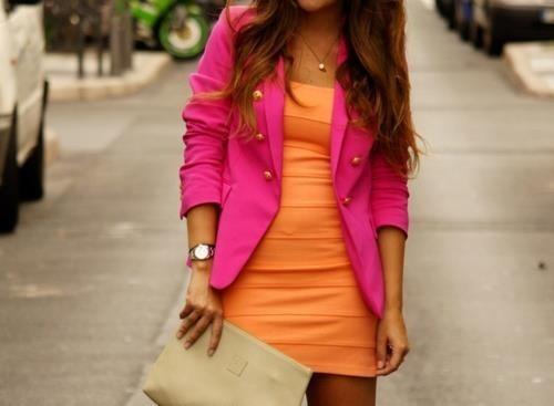 Neon Colour Block